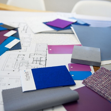 Phase 1: Research And Space Planning - This Phase consists of gathering information and developing an in-depth understanding of the client's design goals. This process begins with an intensive exchange of information. In this Phase the designer creates a preliminary layout.
