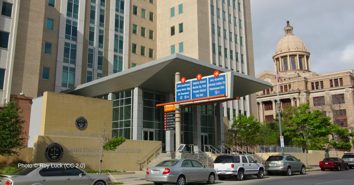 The Harris County Juvenile Justice Center. Photo © Roy Luck (CC 2.0)