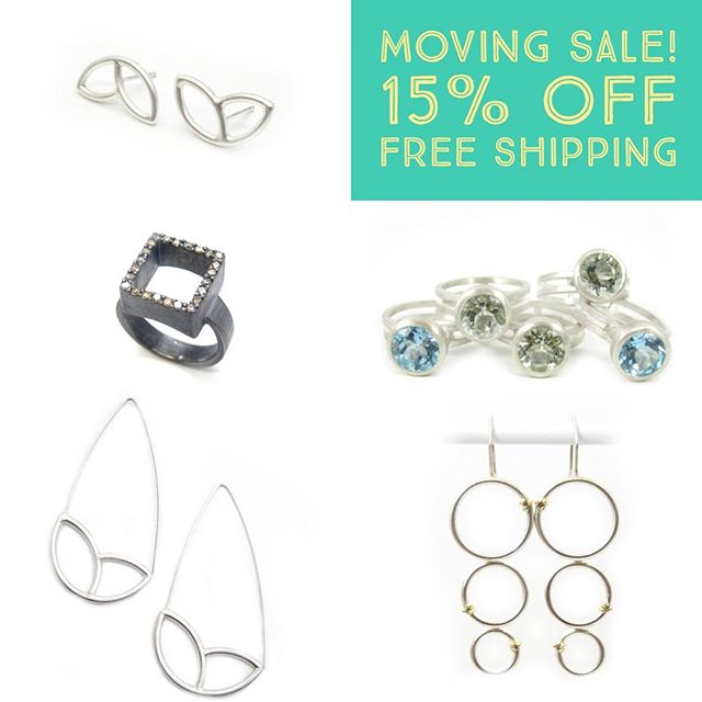 HUGE shop update & I'm moving across country in 4 days so enjoy a big discount on all in stock jewelry...now through 8/26. Discount not available on Ceremony Jewelry. Limited quantities!!!!