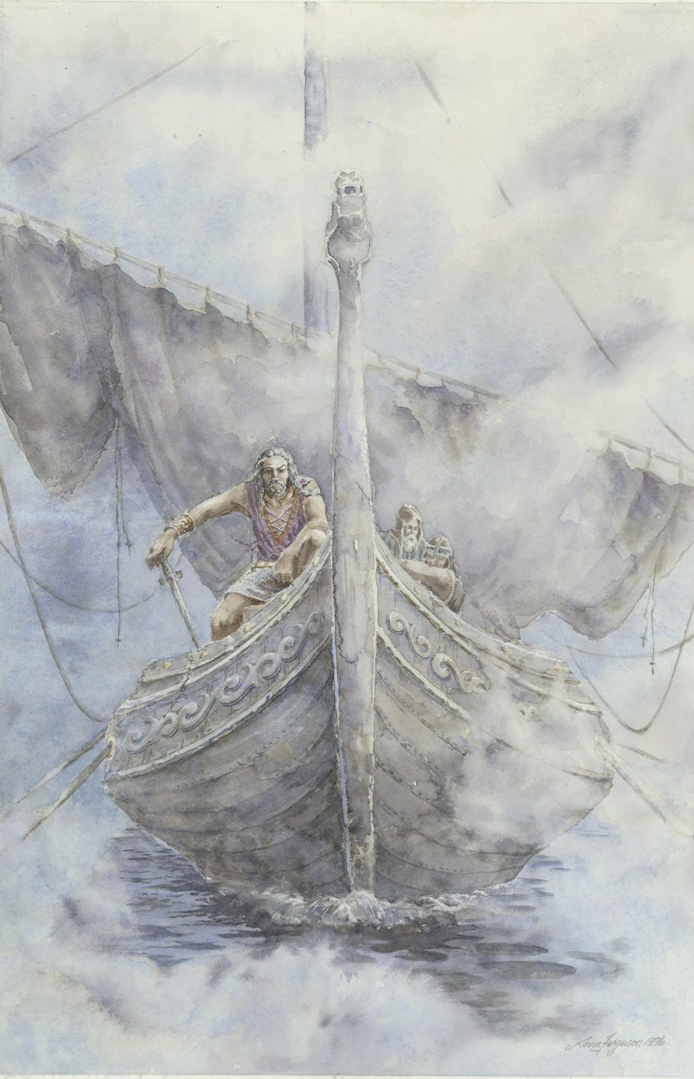 Thorfinn - Viking river raid - Macbeth