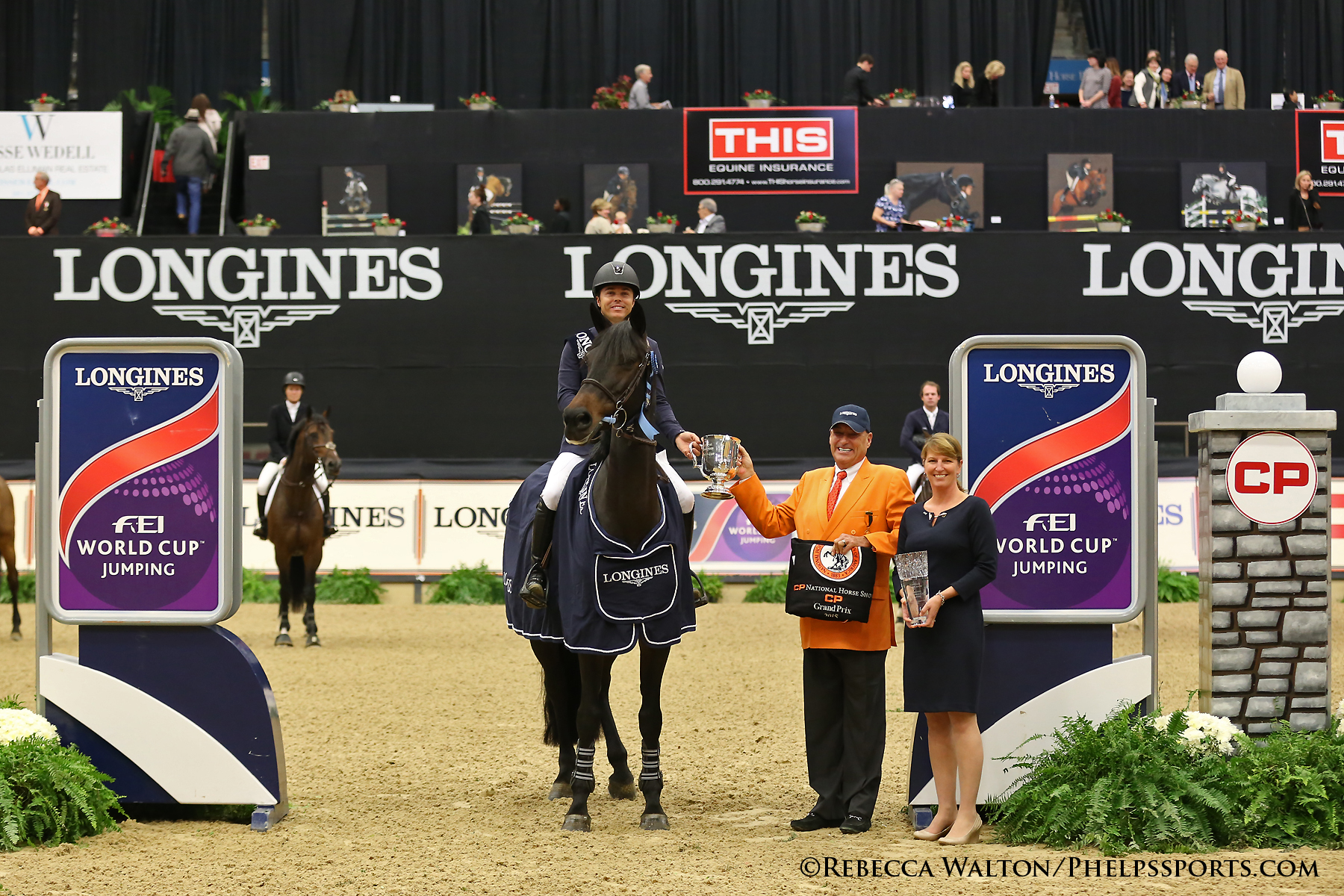 Kent Farrington in the award ceremony with Mason Phelps Jr and Connie Sawyer_Photo by Rebecca Walton.jpg