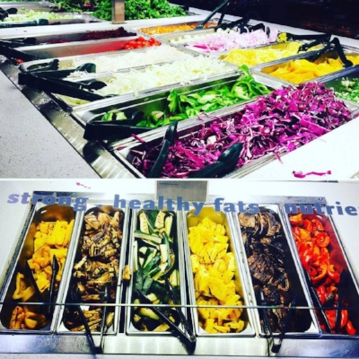 Whole Foods Market prepared foods & salad bar - heaven on earth when you're in a pinch for a healthy meal in a hurry or on the road and have access to one nearby.