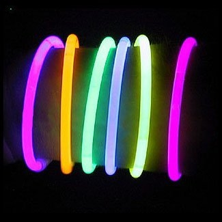 How fun would it be to have glow bracelets while trick-or-treating!?