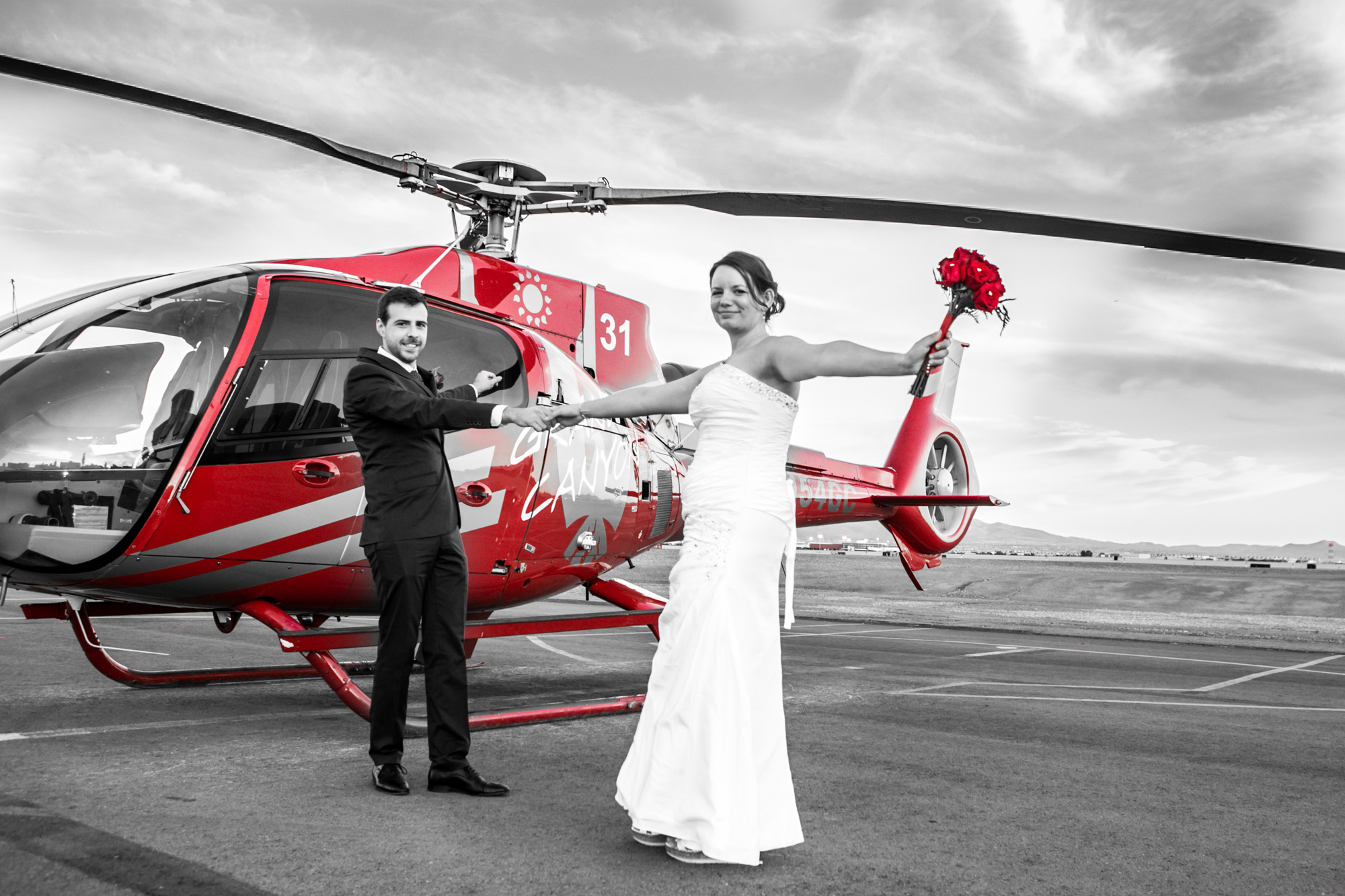 Helicopter Wedding Ceremony at The Grand Canyon - Have a beautiful Grand Canyon Ceremony and say