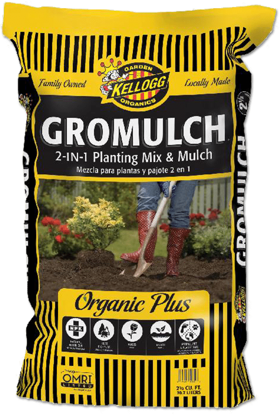 - Get your garden mulched in now so you don't have to be out there in the heat that is on its way!Less Water, Less Weeds!!!Great for trees, shrubs and flowers as a soil amendment or mulch.Mix with existing soil or use as a mulch100% satisfaction guaranteedINGREDIENTS:  Composted rice hulls, aged recycled forest products, aged arbor fines, composted dairy manure, composted poultry manure, gypsum, dehydrated poultry manure, hydrolyzed feather meal