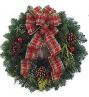 Fresh Wreath Making - Hand-Crafted with a beautiful fresh cut selection of fragrant greens:Douglas FirSilver TipWhite FirSugar PineIncense CedarCelebrate the season with our famous Toddies, served up piping hot at all our classes.This class is presented in an area that can be chilly, please dress accordingly.