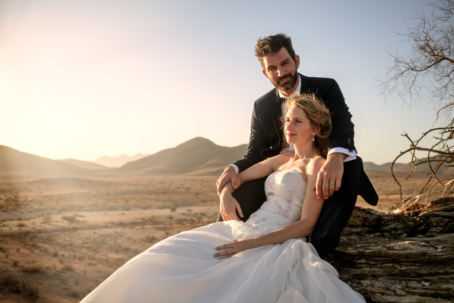 Namib desert couple rooisand Namibia wedding photography by Willem Vrey