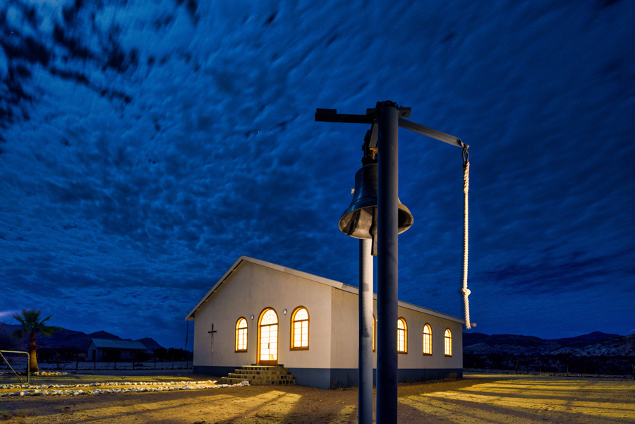 Rural church Namibia wedding photography by Willem Vrey