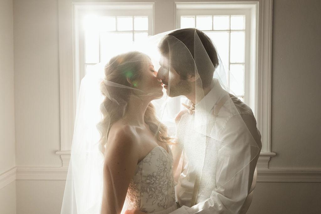Picture By:  Ellis and Indigo  Dress:  Ivory Loft Bridal