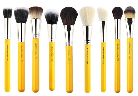 Brushes Used In Traditional Application   (courtsey of www.Bdellium.com)