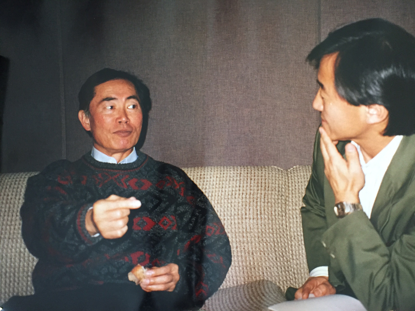 "George Takei, the voice of ""Star Festival"""