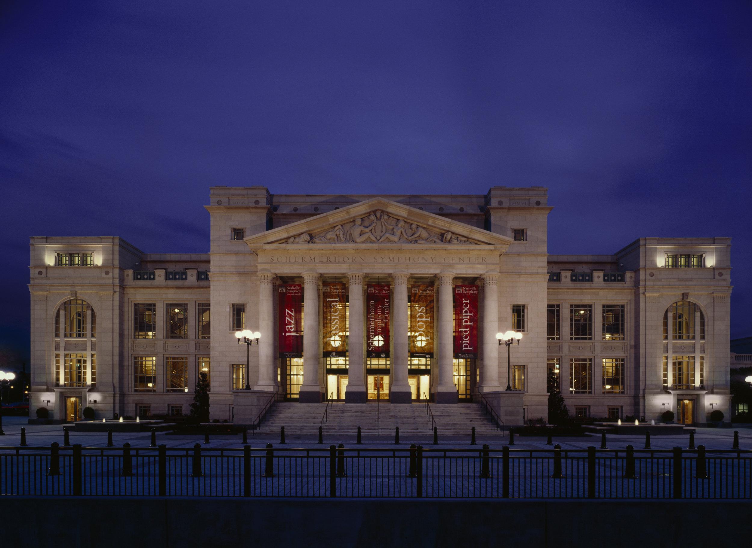 Schermerhorn Symphony Center:photo by Steve Hall of Hedrich Blessing