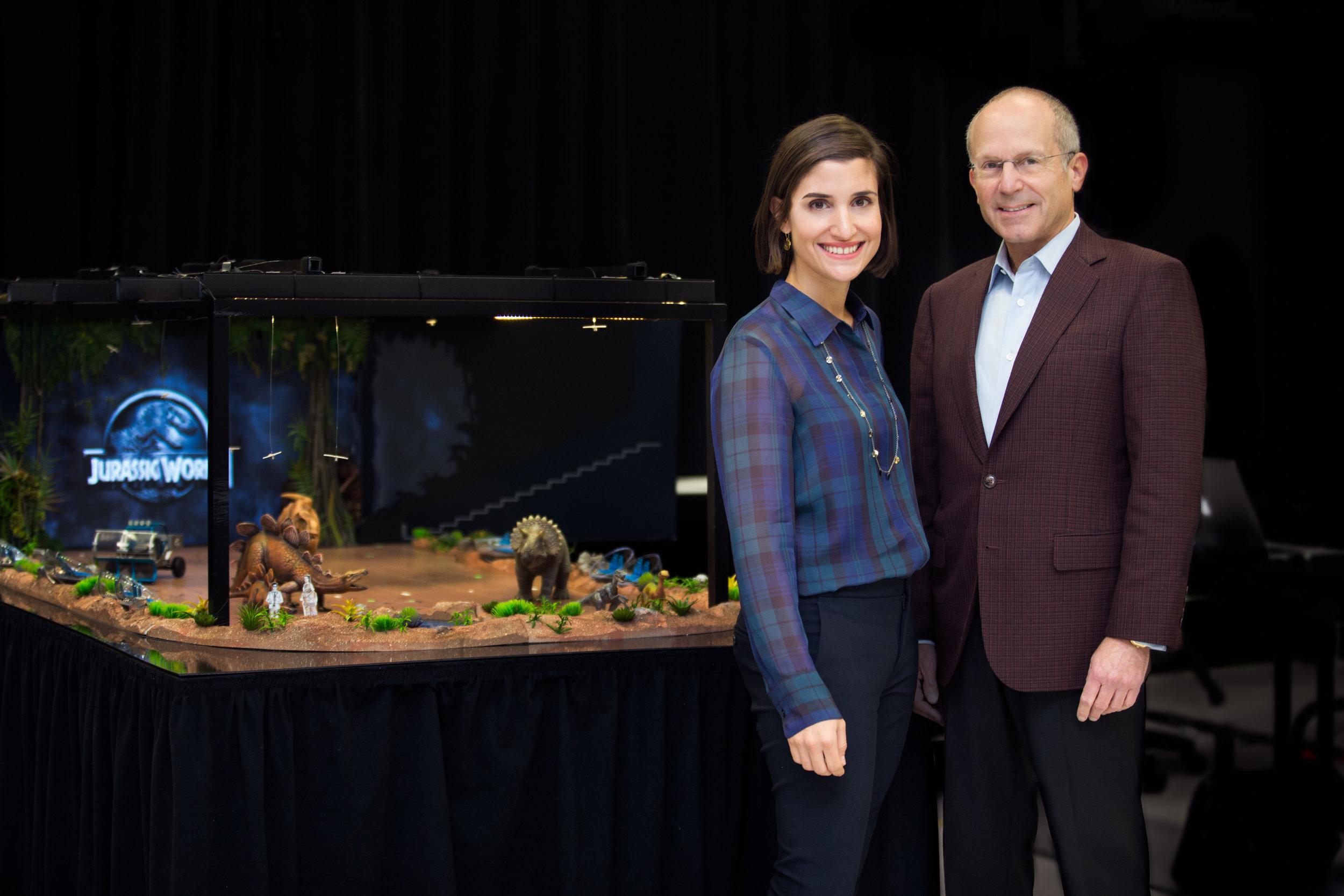 Kenneth Feld and Juliette Feld