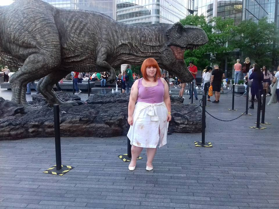 Claire At T-Rex.jpg