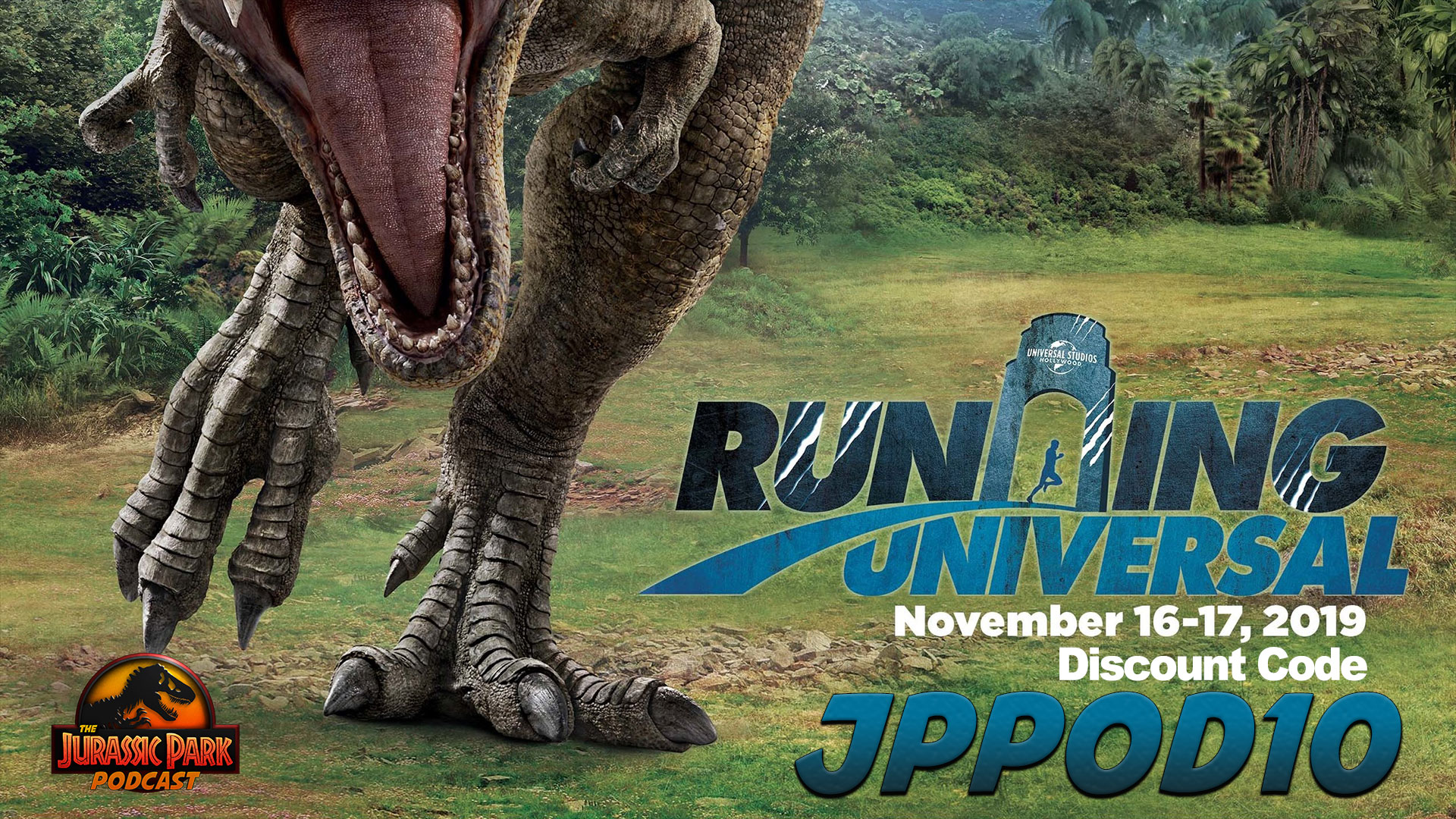Click through for more details on the Jurassic World Run at Universal Studios Hollywood!
