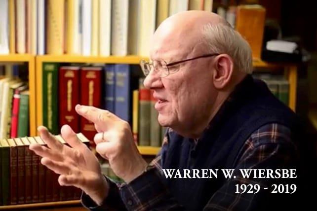 Pastor Teacher Warren Wiersbe