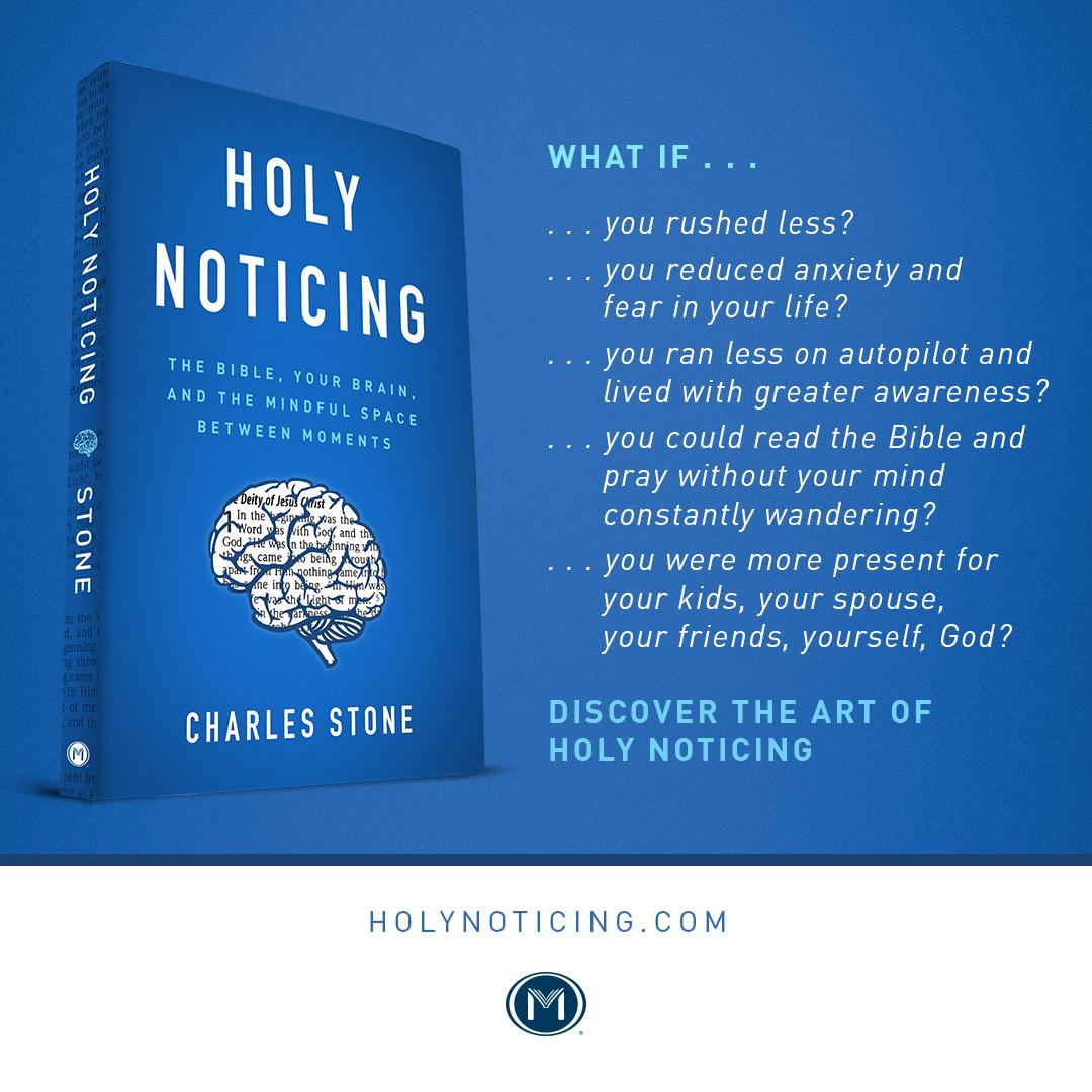 Holy Noticing Moody Publishing
