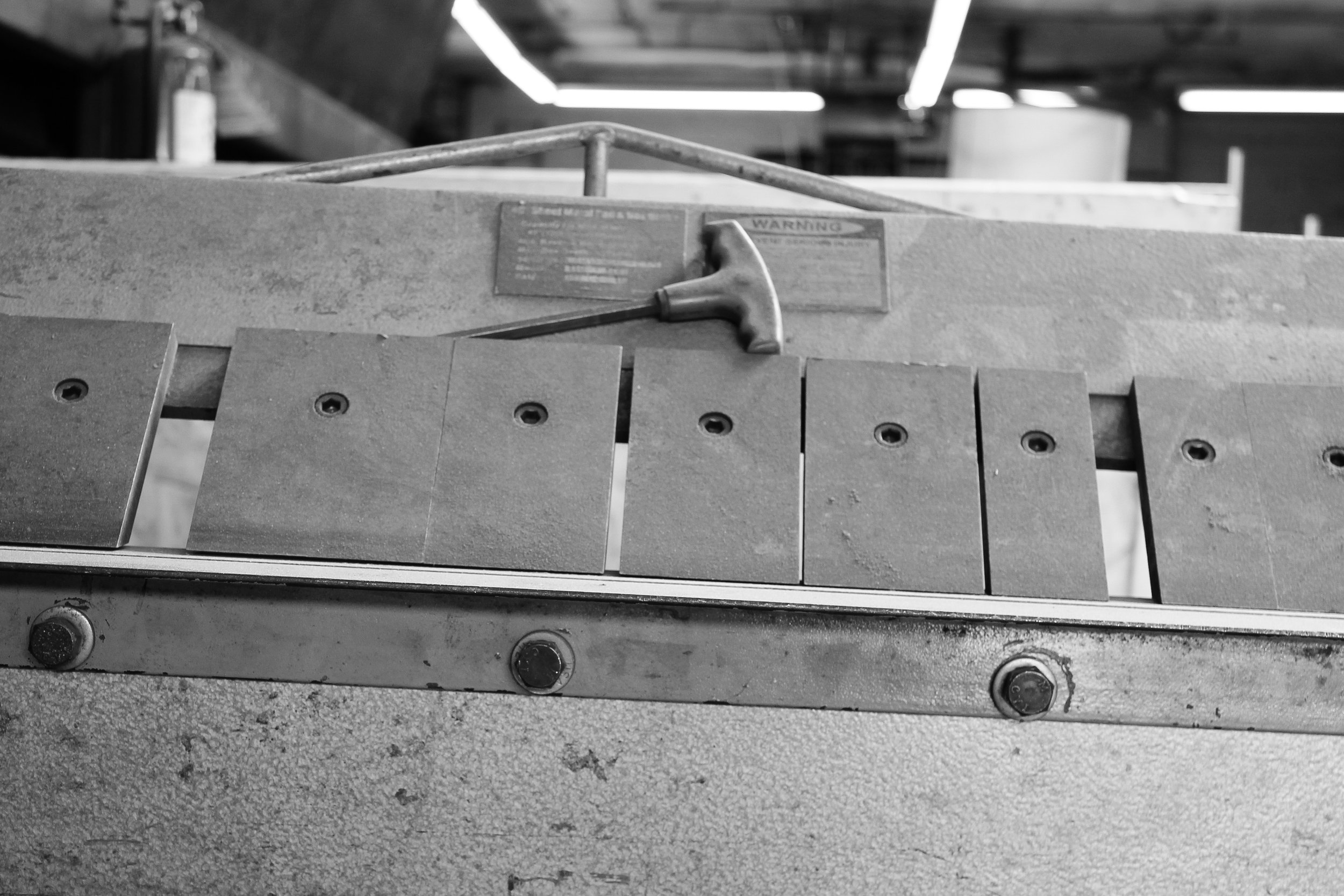 Precision and craft under one roof   CNC machining to blacksmithing.   Our Story