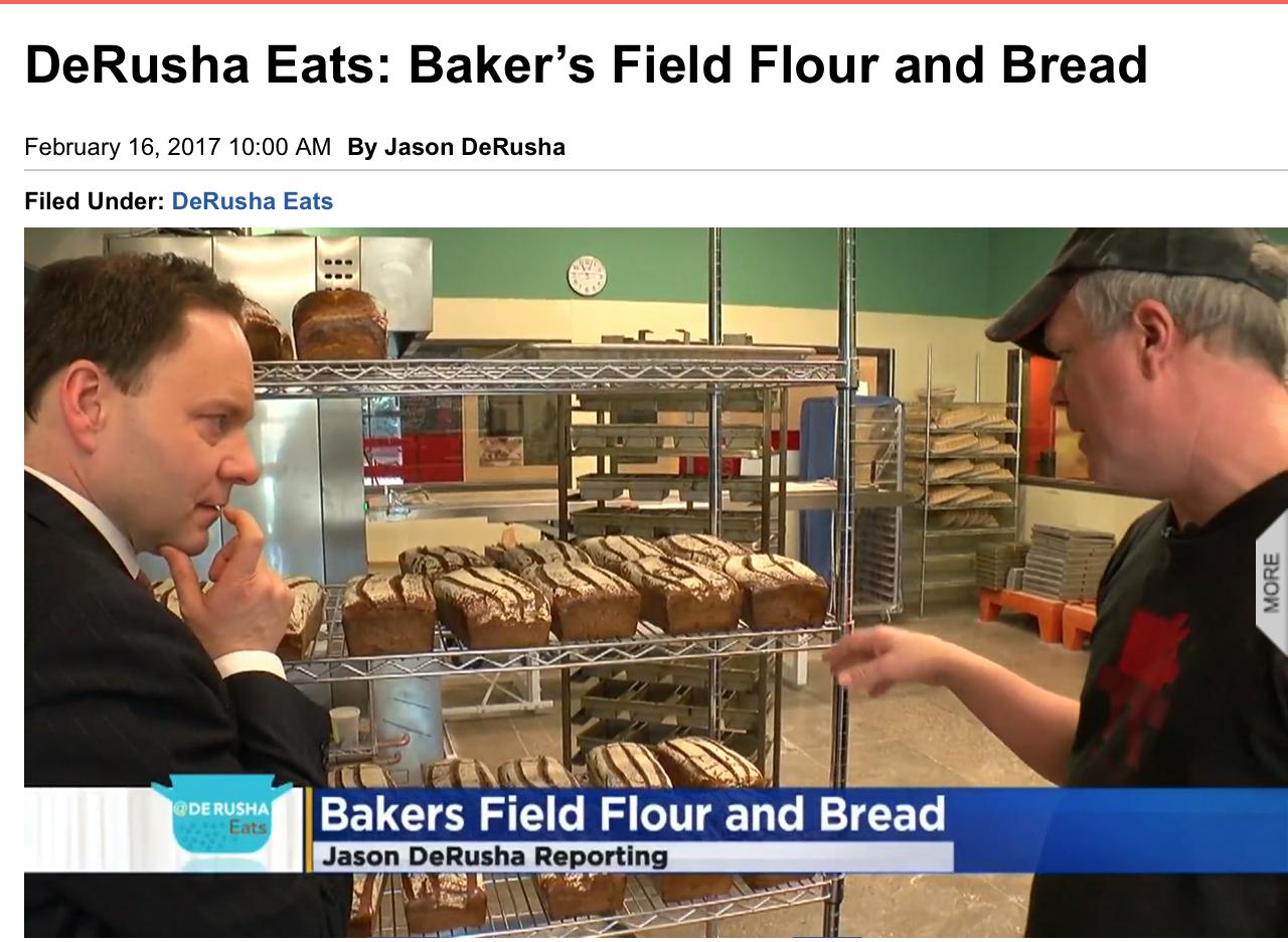 DeRusha Eats: Baker's Field Flour and Bread
