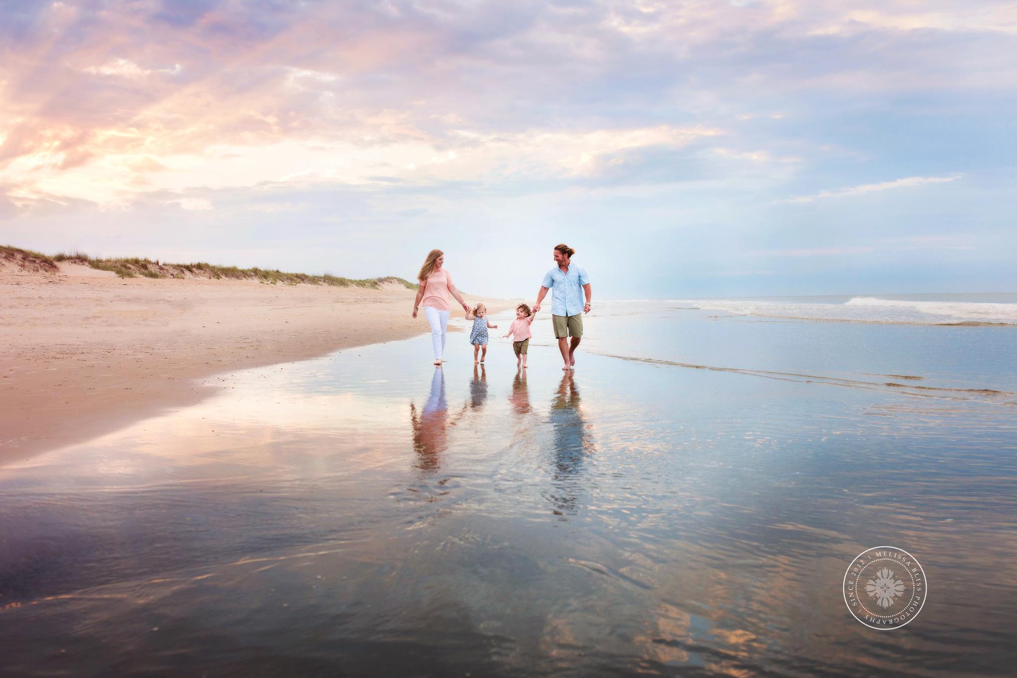 Virginia Beach Photographers - Sunset Family Mini Session