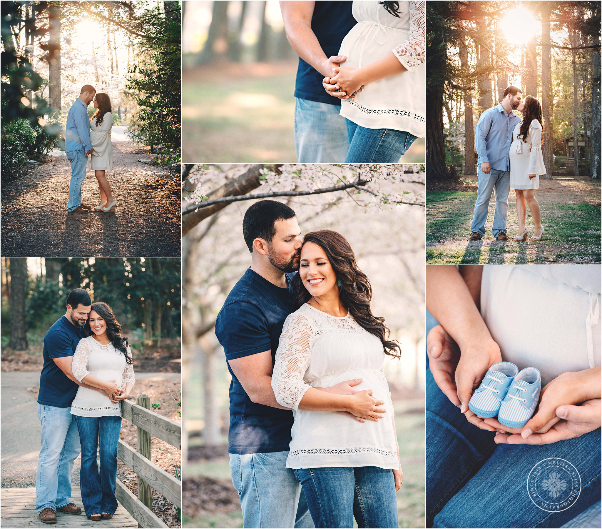 spring-maternity-inspiration-cherry-blossom-session-couple-posing-virginia-beach