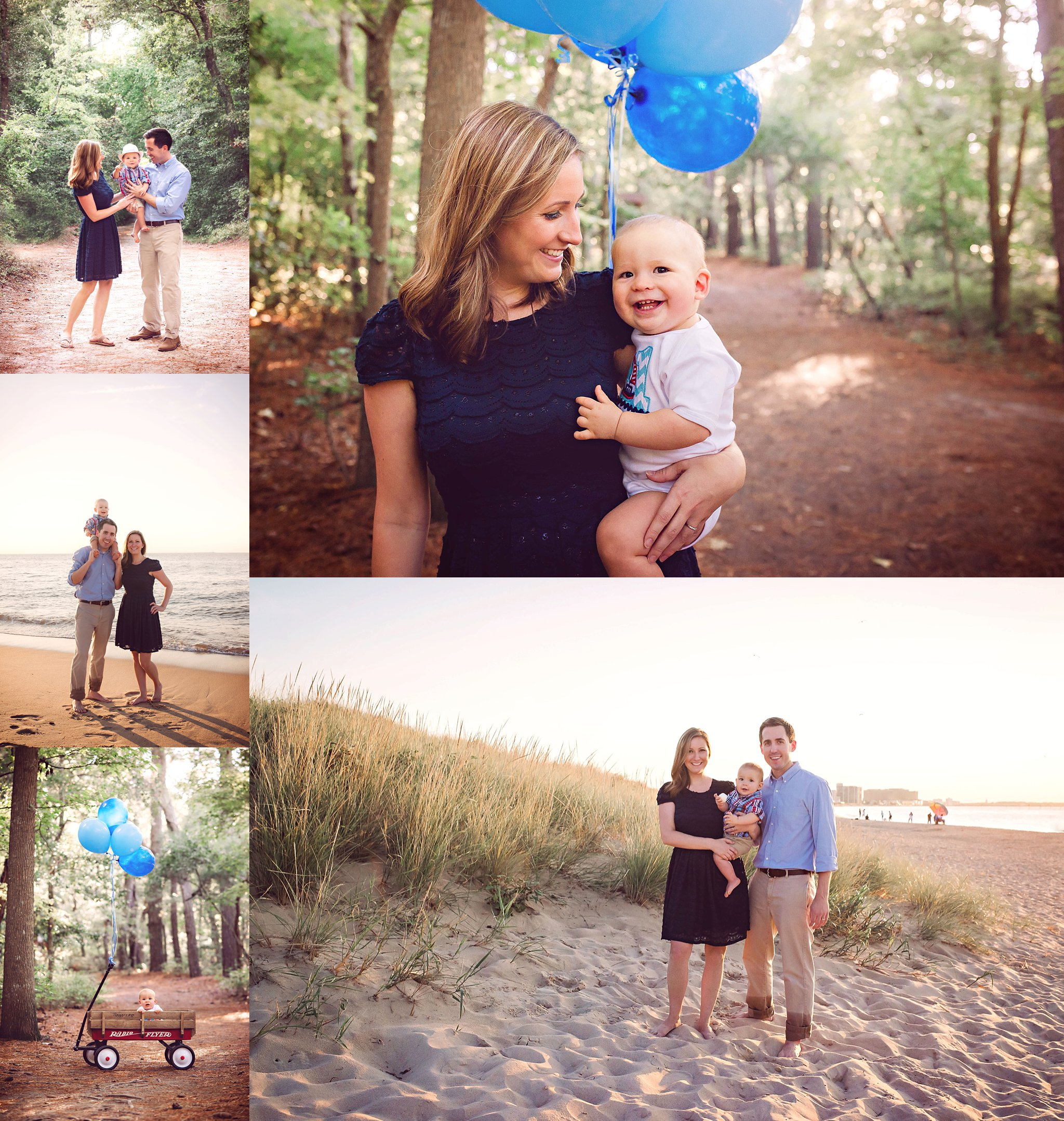 first-landing-state-park-one-year-old-portraits-family-session-beach-and-woods-virginia-beach-photographer
