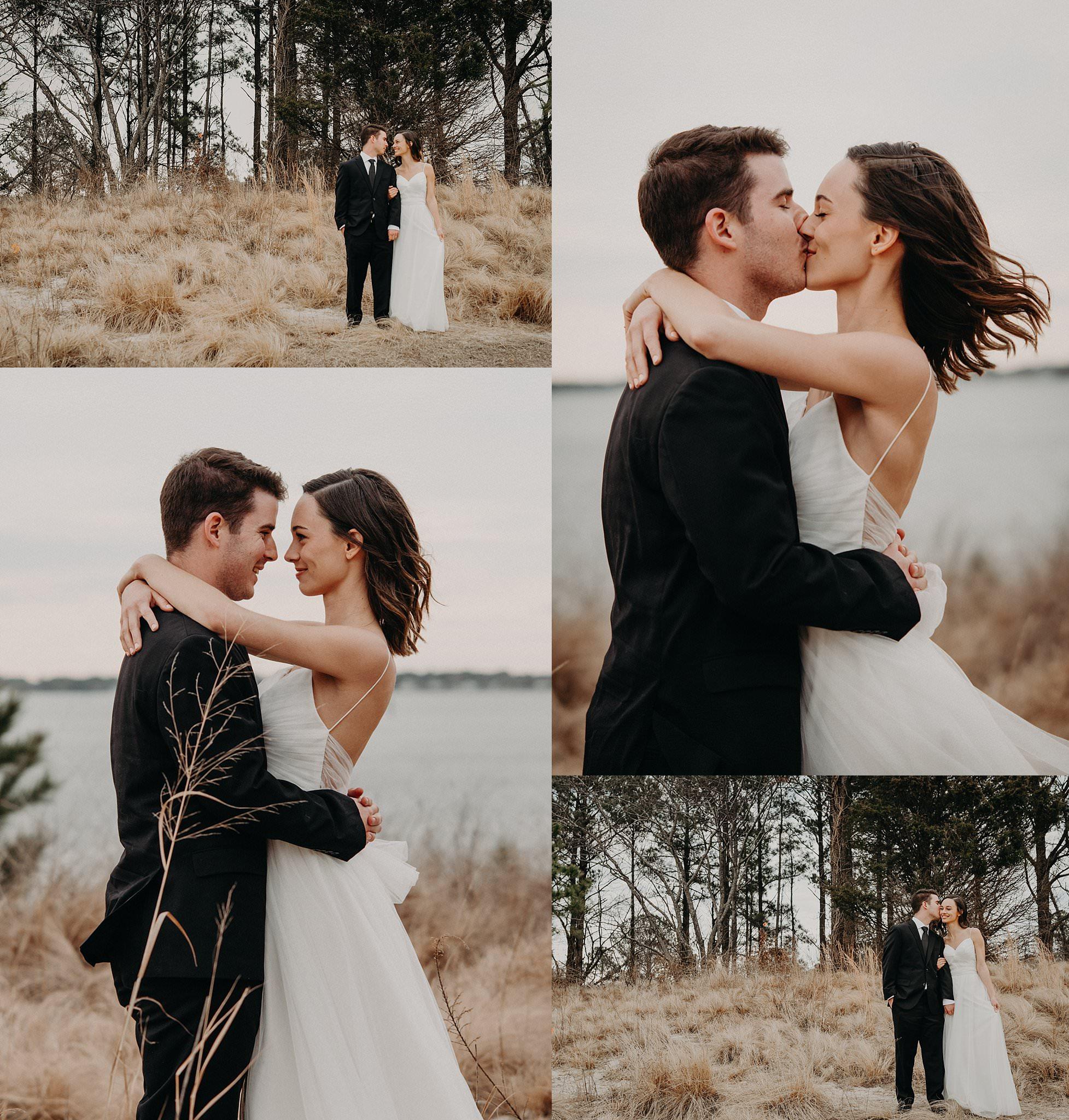 Norfolk-Elopement-Session-Bride-groom-at-natural-park-melissa-bliss-photography-VA-wedding-photographer.jpg