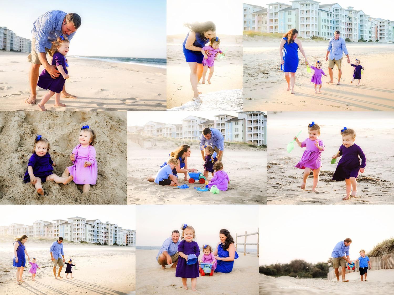 Sandbridge Beach, VA Family Lifestyle Photos