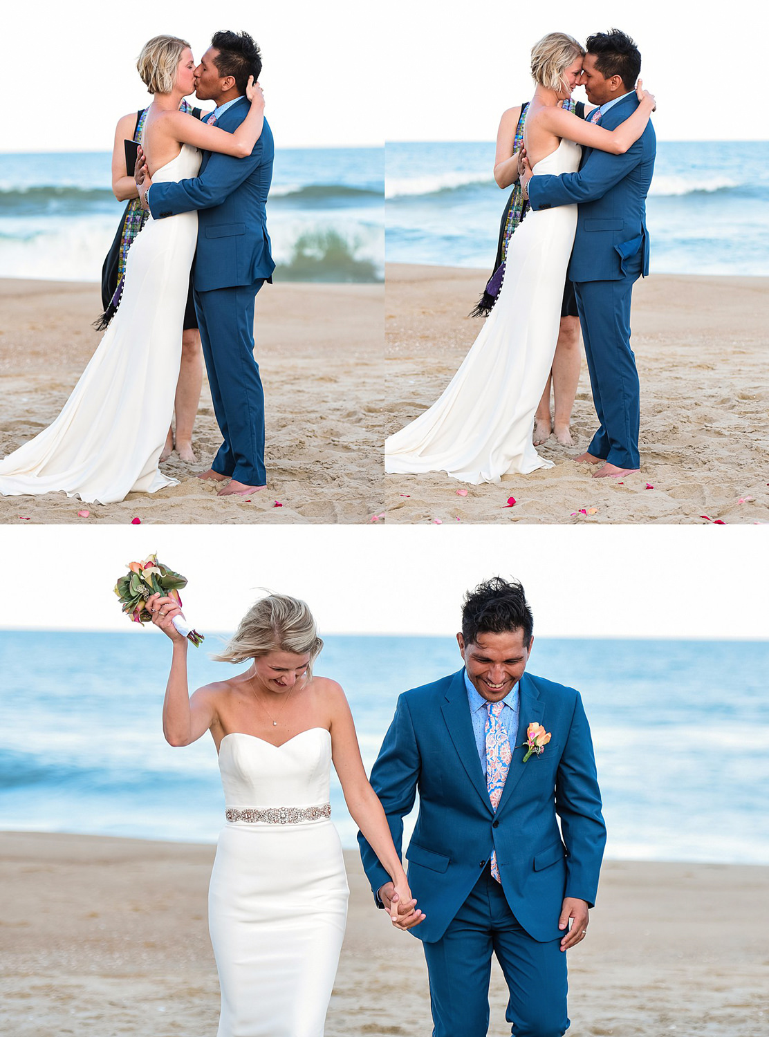 the-wedding-kiss-bride-and-groom-on-beach-sandbridge-photographer-melissa-bliss-photography.jpg