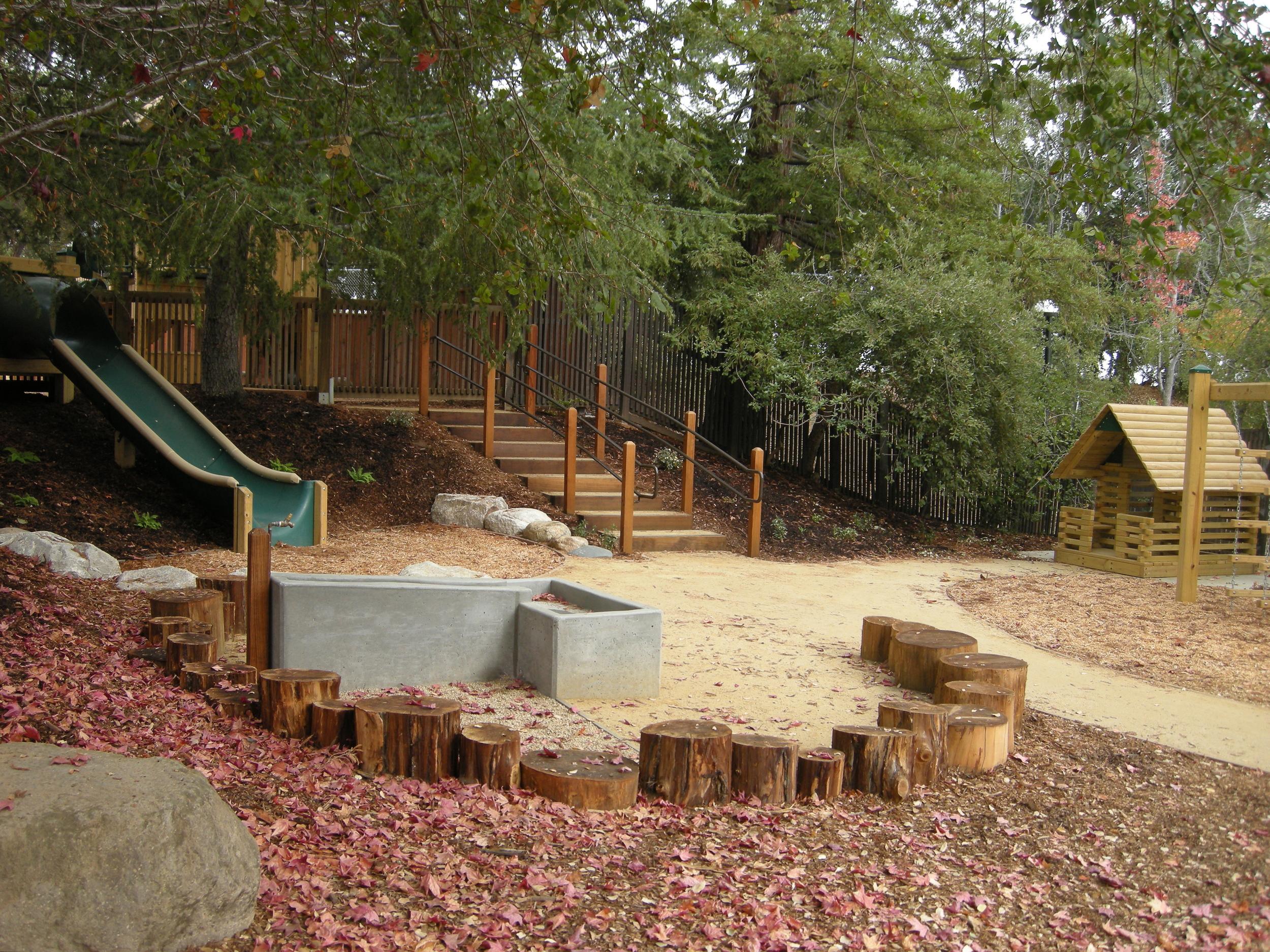 DeAnzaCDC_hillside play area.JPG