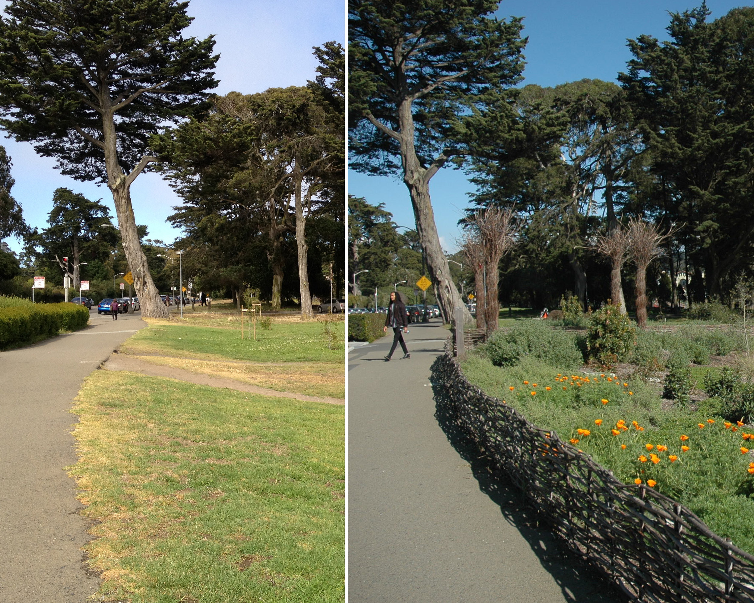 Kezar Triangle - GGP Before and After