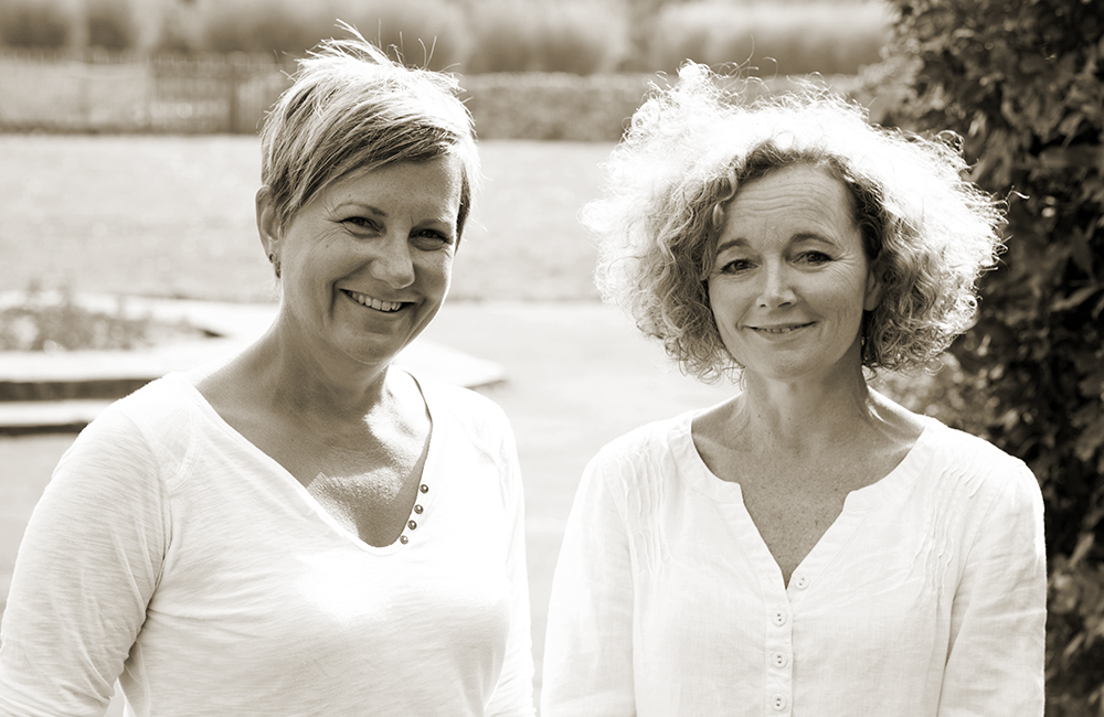 Lorraine Prideaux and Elizabeth Ross Talbot