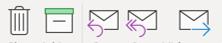 Nye symboler i Outlook