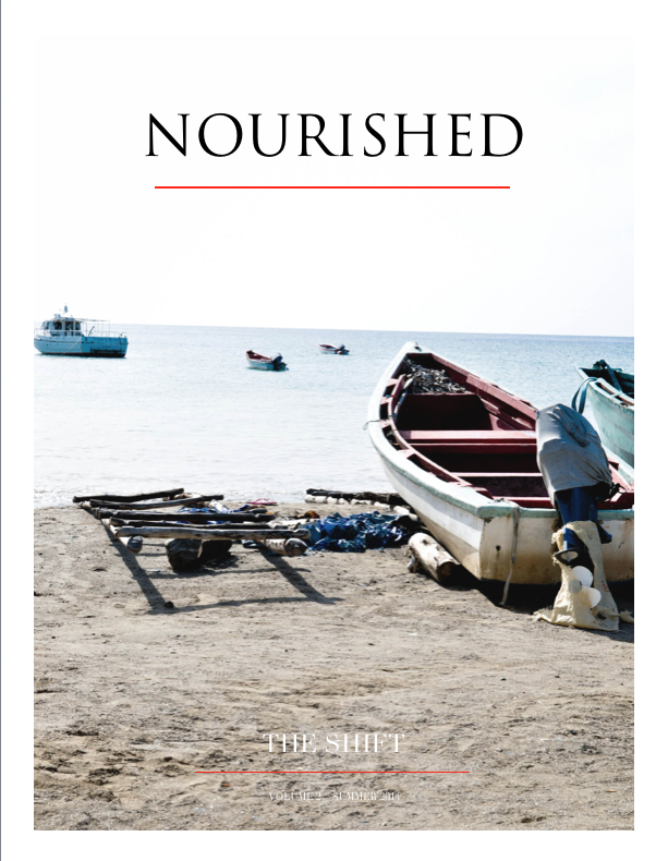nourished mag - THE SHIFT - vol. 2 - Summer 2014