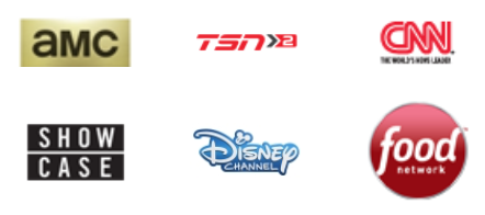 CLICK FOR A LIST OF ALL CHANNELS