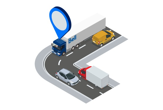 Real-time Management - Always know where vehicles and assets are with enhanced dispatch capabilities and real-time GPS location tracking. Dynamically schedule and re-route drivers to increase on-time arrivals and reduce fuel consumption.