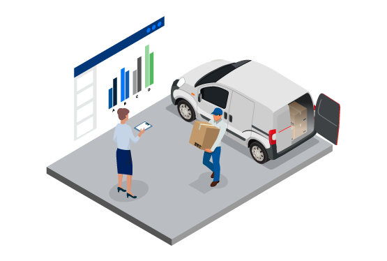 Optimized Operations - Real-time reports on fuel consumption and kilometres logged can help improve fuel efficiency and reduce costs. And with insights into load utilizations, vehicle location and driver availability, you can identify extra capacity and consolidate loads to better meet customers' needs.
