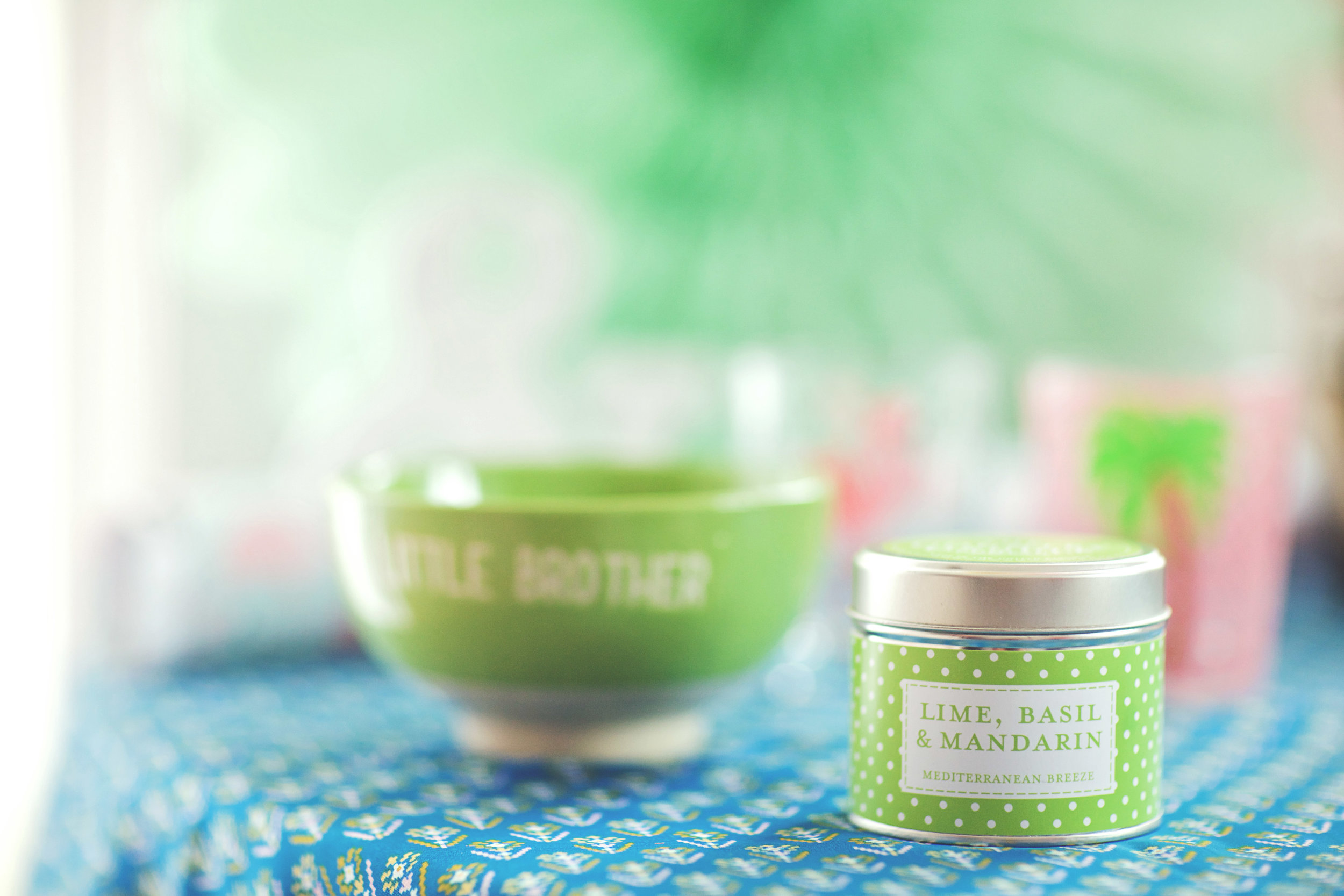 Lime, Basil & Mandarin Country Candle: £8.99
