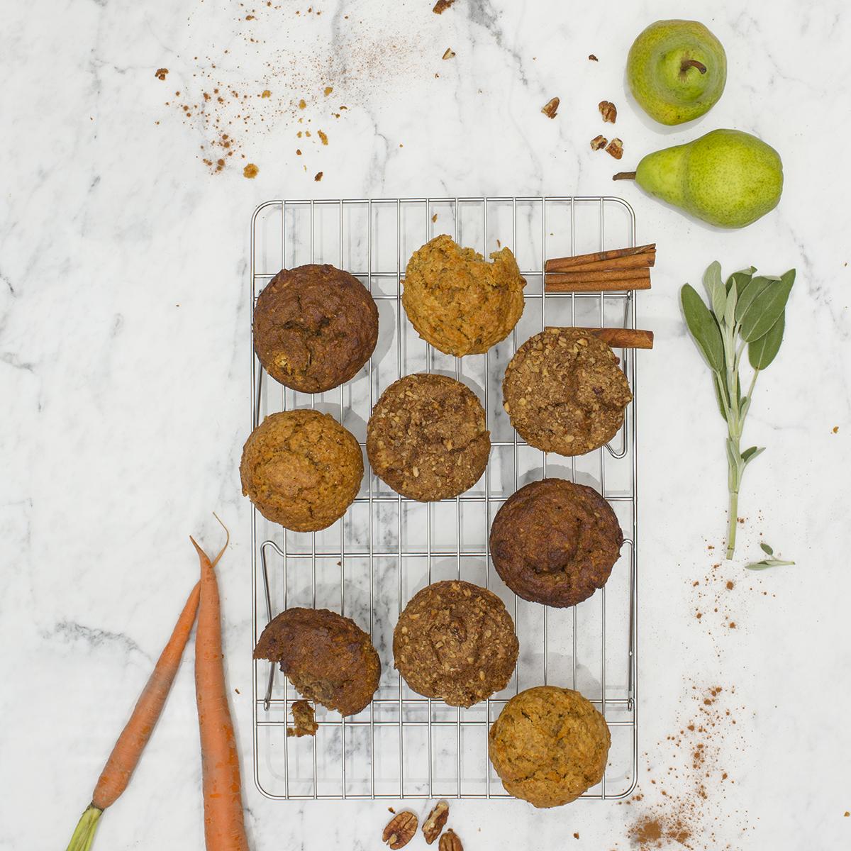 Assortment of Wheat Free Muffins