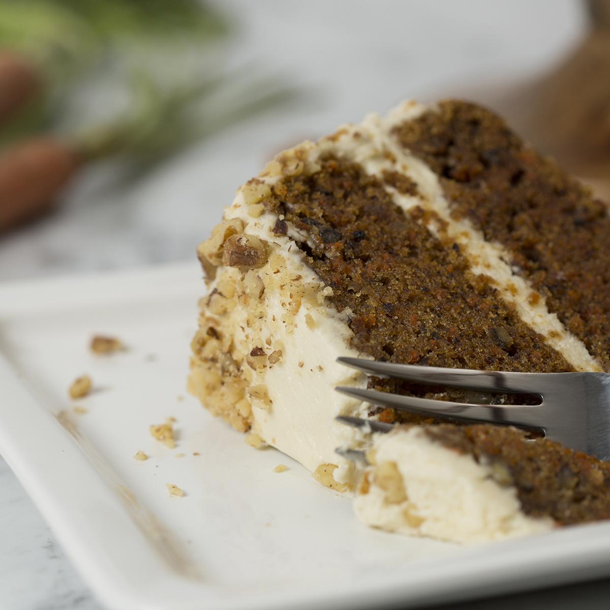 Native Sun's Famous Gluten-Free Carrot Cake