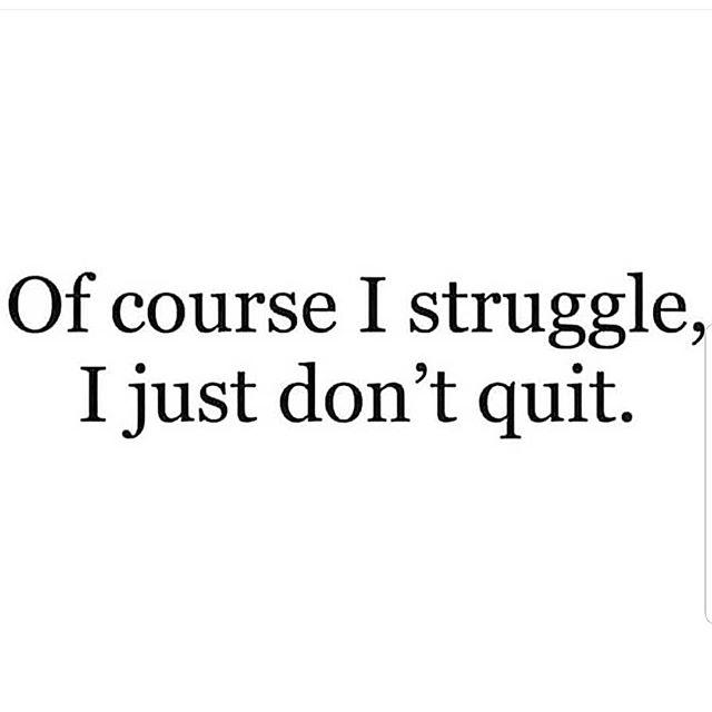 Never Quit !