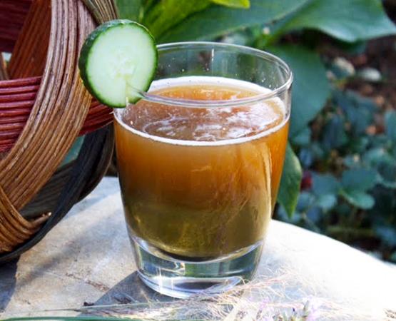 Cucumber Cooler Veggie Juice