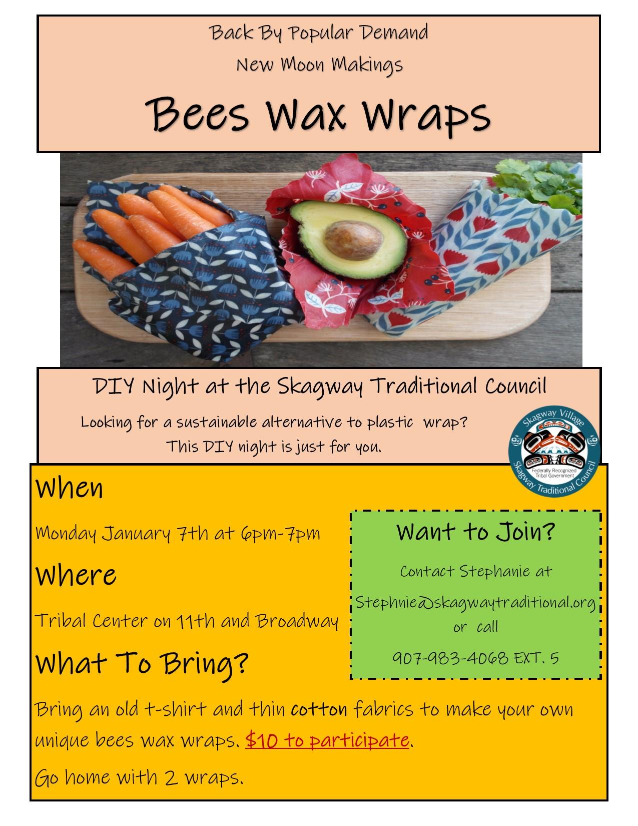 bees wax wraps  Jan 2019.jpg