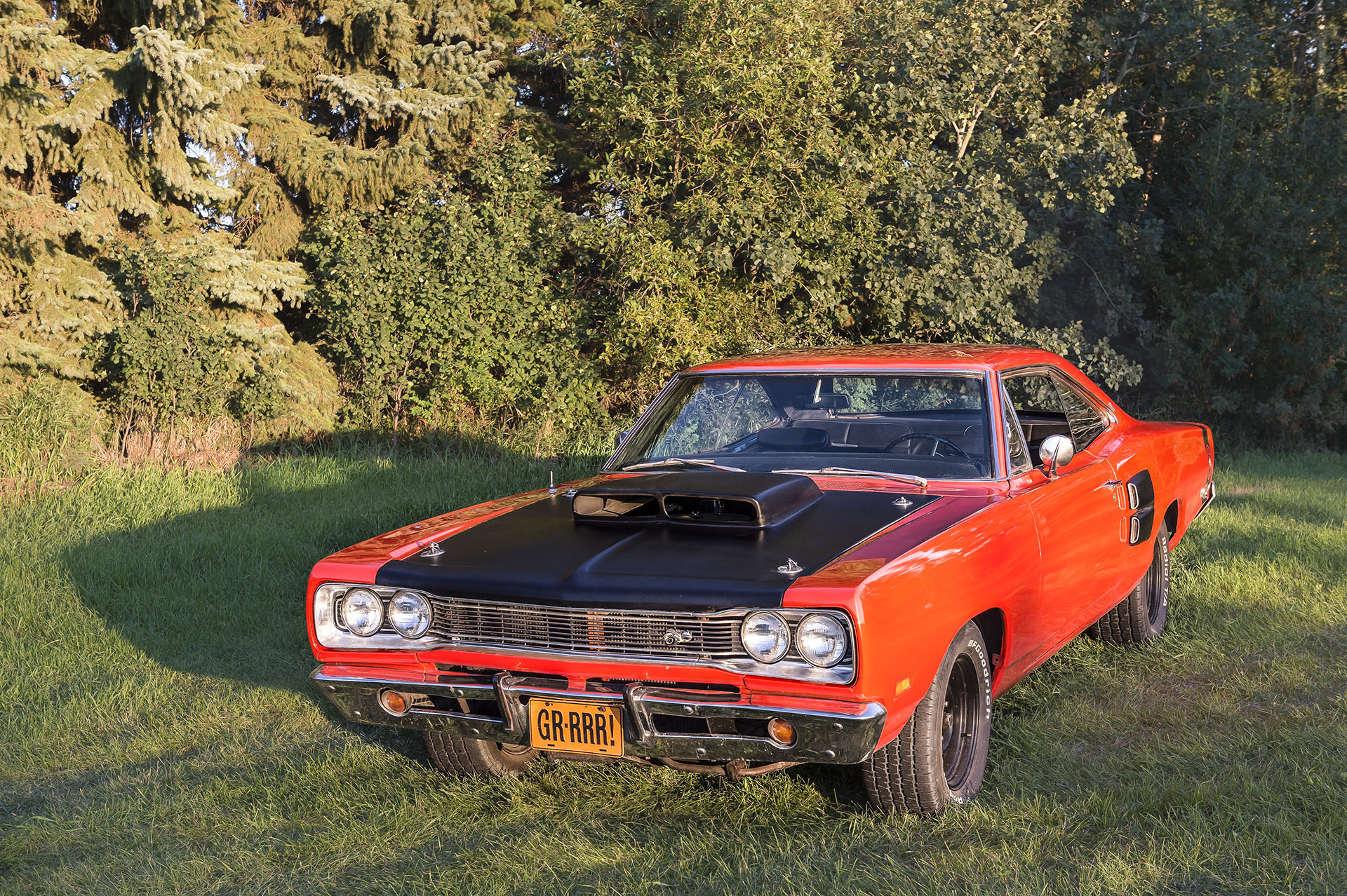 """1969 Dodge Super Bee   383 Engine with a 727 automatic transmission and a 8-3/4"""" Rear Diff. This car is locally owned and driven. You will see it and morevat Just Kruzin Kruz nights"""