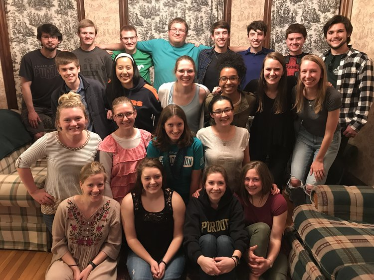 RUF Adopt-a-Student Program - Resurrection Presbyterian Church (RPC) is called by God to serve the whole Greater Lafayette area, with a special love and concern for the Purdue University community. While many Christian students view their college years as a time to simply attend a church and then move on, we would like to extend an invitation to do more than that. We would love students to become an integrated part of our church family. RPC is the sponsoring church for the Purdue University Reformed University Fellowship (RUF) campus ministry through the Presbyterian Church in America.The goal of RUF Adopt-a-Student Program is to provide opportunities for students and families to get to know one another. It is a chance for students to see families living out the gospel as well as a starting point for deeper relationships and involvement in the life of the church.This program will match students with families at RPC. Students do not need to attend RPC to participate in the program. This year is our inaugural year, and the program will launch at the beginning of the academic year in Fall 2019. We ask that students and families get together at least three times during the Fall semester and four times during the Spring semester (about once per month). Sunday nights are a particularly good night, as students do not have meals provided in University dining halls.We encourage families to ask students over to their homes for dinner, family outings or game nights, or other events within the Greater Lafayette community. You are certainly welcome to meet more than seven times over the next year, but meeting monthly would be a great start. The program is extremely flexible and can be modified to meet the needs and schedules of both students and families.If you are interested in this program (both students and families), please follow the link below to sign up:https://purdue.ca1.qualtrics.com/jfe/form/SV_3sLxsFtVXxSVEHj