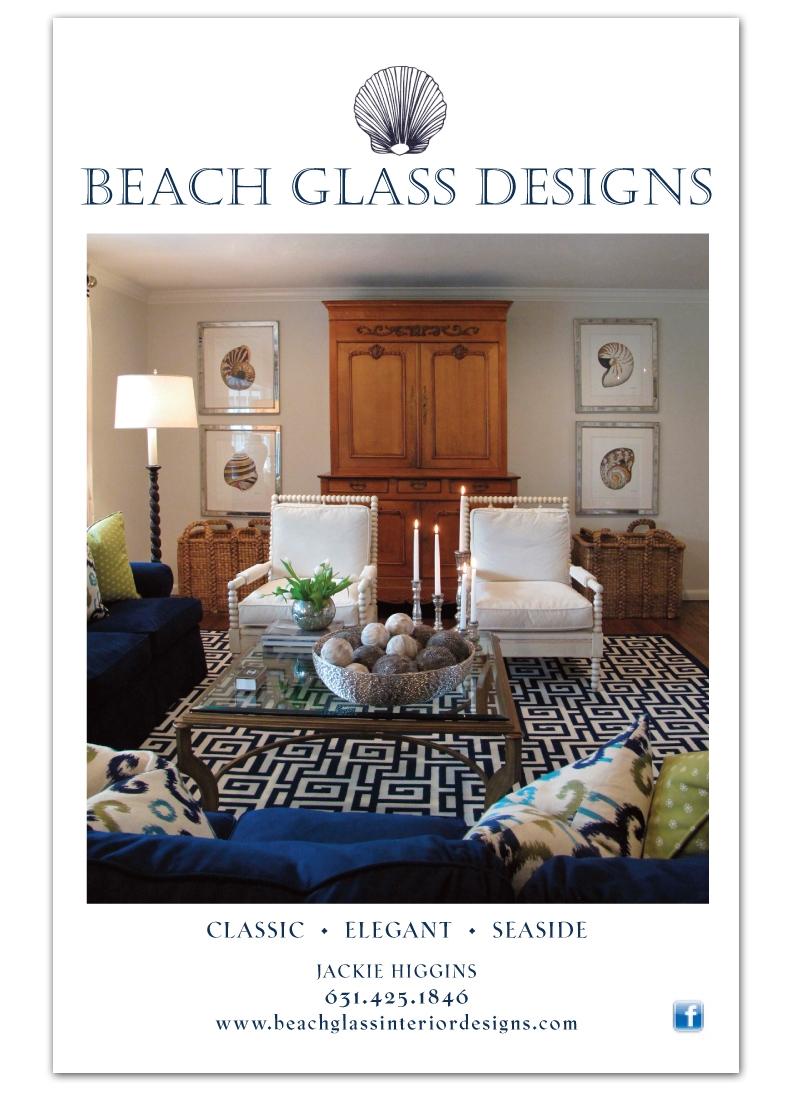 Beach Glass Designs - Print Ad