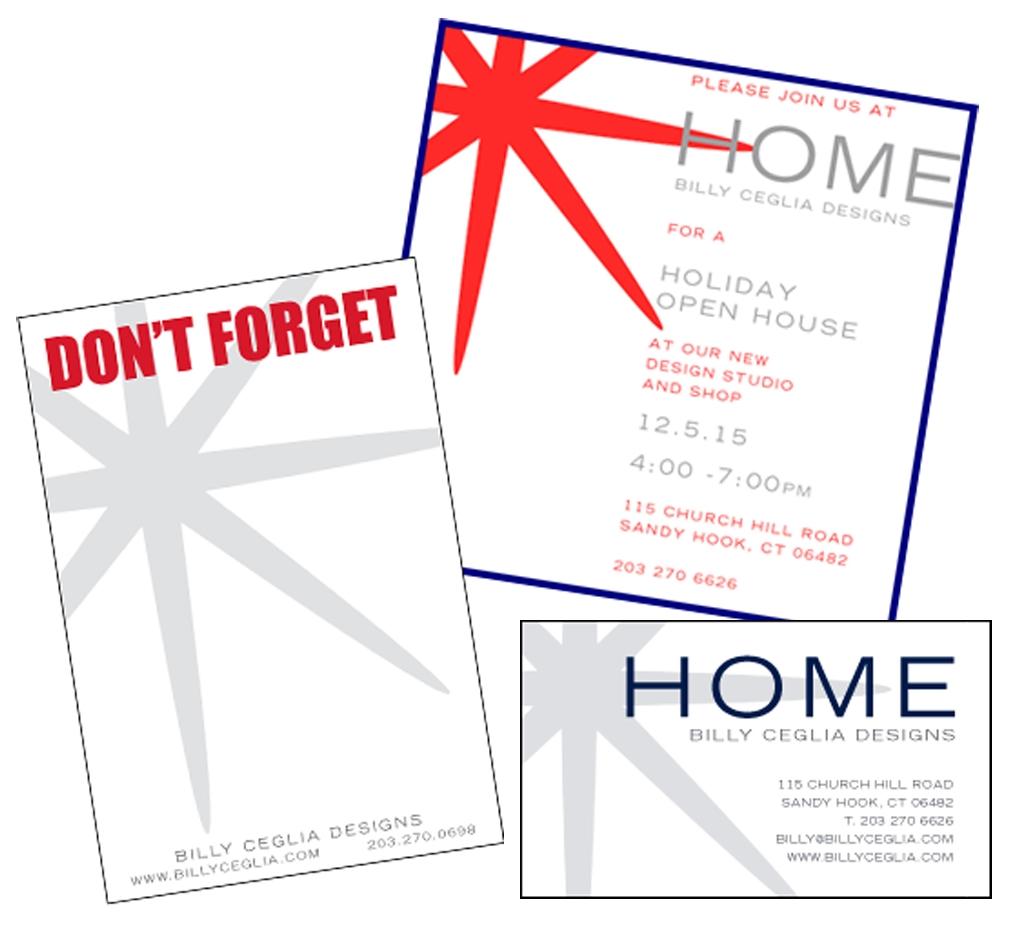 Billy Ceglia Home - Print Design