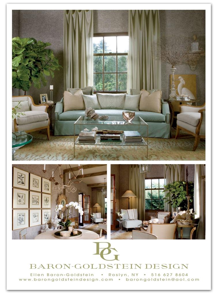 Baron Goldstein Designs - Magazine Ad