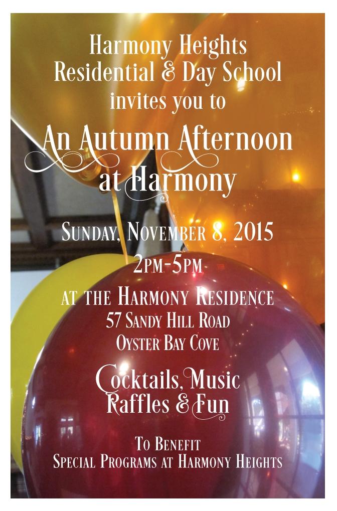 Harmony Heights - Event Invitation