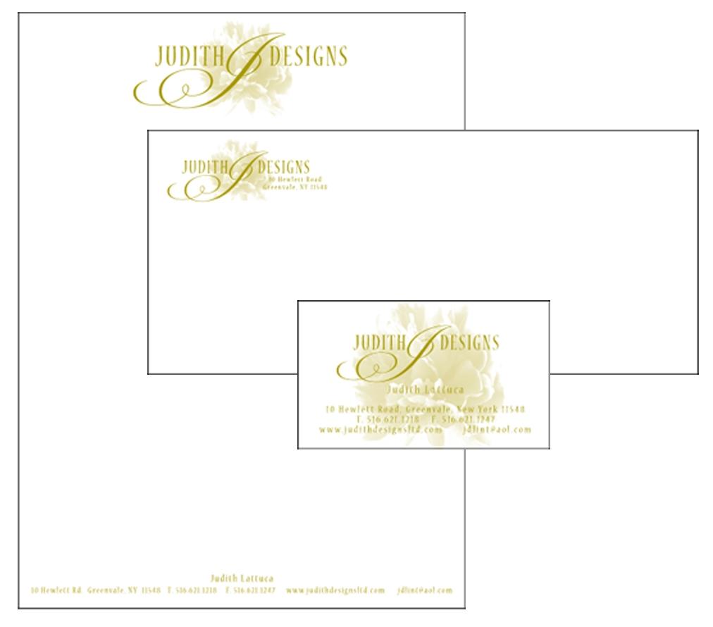 Judith Designs - Letterhead Design